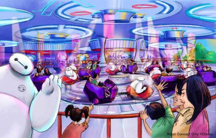 Tokyo Disneyland - The Happy Ride with Baymax
