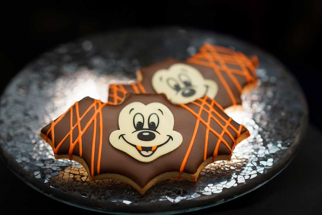 At Market House at Disneyland Park, guests will find this Bat Cookie. (David Nguyen/Disneyland Resort)