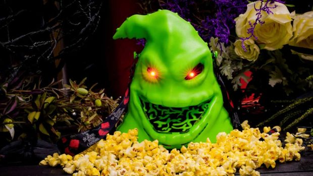 Oogie Boogie-themed popcorn bucket. (David Nguyen/Disneyland Resort)