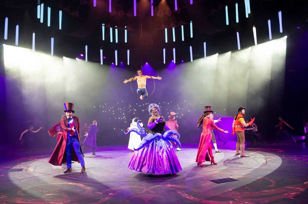 Hong Kong Disneyland - Halloween - A new 25-minute musical stage show created for HKDL guests. This limited-time Halloween offering is the world's first to feature live performances from five iconic Disney Villains