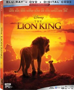 2019 Lion King Blu Ray Box