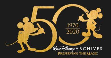 Walt Disney Archives 50th Anniversary