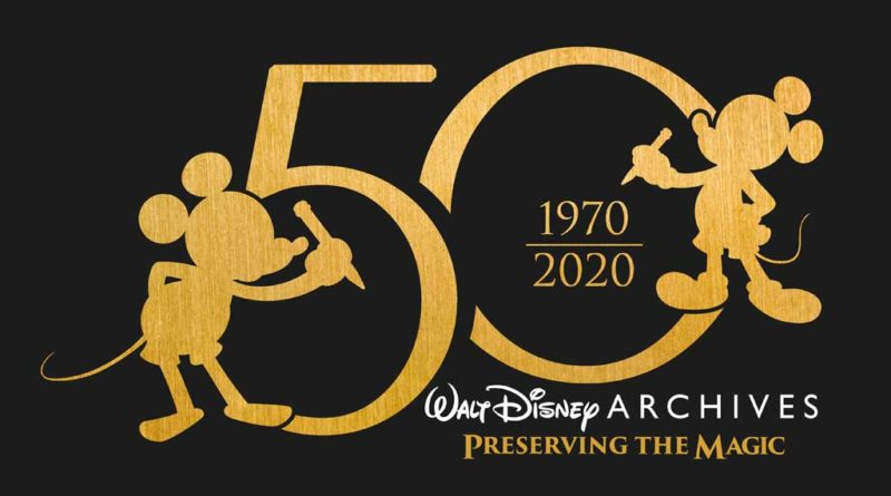 Walt Disney Archives 50th Anniversary