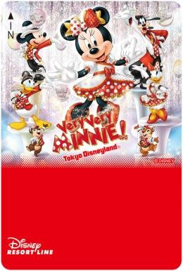 "Day Pass design inspired by""Very Very Minnie!""at Tokyo Disneyland"
