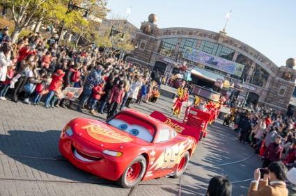 "Tokyo DisneySea - Pixar Playtime 2020 - ""Lightning McQueen Victory Lap"""