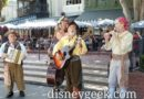 Bootstrappers performing in New Orleans Square