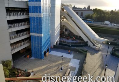 Disneyland Parking Structure Construction Project Pictures (10/18/19)