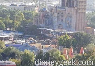 Avengers Campus (Marvel Project) at Disney California Adventure Construction Pictures (10/18/19)