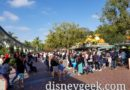 Making my way to Disneyland just before 10am, lines out to Monorail to enter