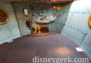 Donald's Boat, the Miss Daisy, ground level interior has been repainted