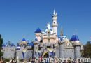 Pictures: Annual Snowfall on Sleeping Beauty Castle is underway