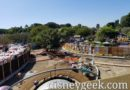 Pictures & Video: Tomorrowland Entrance & Hub – Walkway/Planter Projects (10/18)