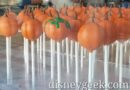 Pumpkin treats being created at Trolley Treats on Buena Vista Street