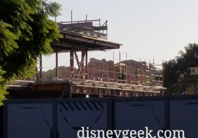 Avengers Campus (Marvel Project) at Disney California Adventure Construction Pictures (11/08/19)