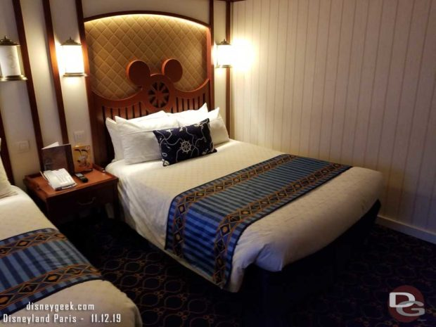 Disneyland Paris - Newport Bay Club Room