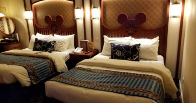 Beds feature several Mickey designs