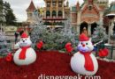 Disneyland Paris Pictures: Town Square Christmas Decorations