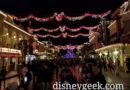 Disneyland Paris Main Street USA this evening (Picture & Video)