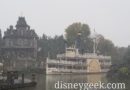 Snowy Frontierland at Disneyland Paris
