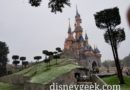 Disneyland Paris Pictures: A snowy Sleeping Beauty Castle