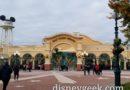 Starting my morning at the Walt Disney Studios Park
