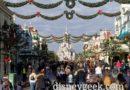 Disneyland Paris Main Street USA this morning