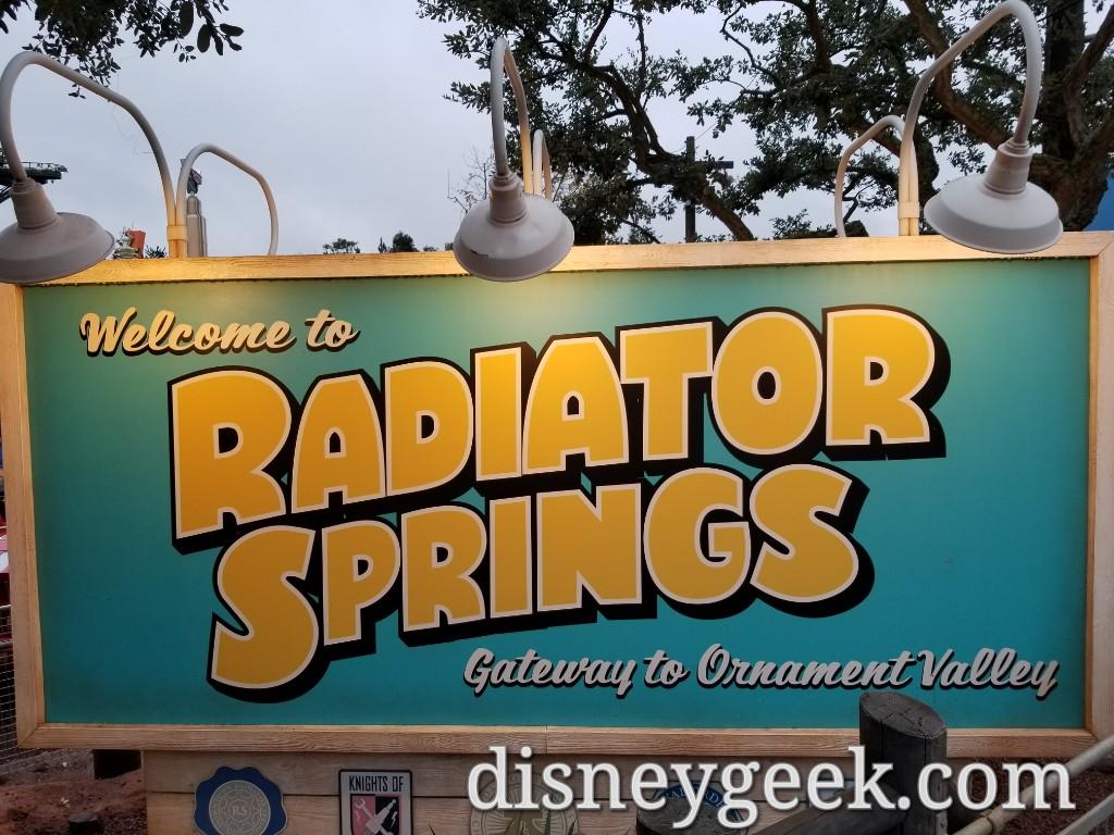 Disneyland Paris Pictures Radiator Springs Area Walt Disney Studios Park The Geek S Blog Disneygeek Com