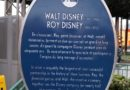 Tribute to Walt & Roy Partnership at Walt Disney Studios Park