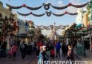 Main Street USA at Disneyland Paris at 3pm