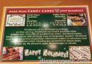 Disneyland Resort Candy Cane Schedule for this year