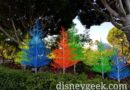 "Pictures: Downtown Disney – ""Let it Glow"" Trees During the Day"