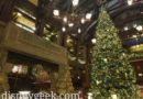 Pictures: Disney's Grand Californian Hotel Christmas Decorations