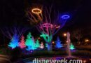 "Pictures & Video: Downtown Disney – ""Let it Glow"" Displays (After Dark)"