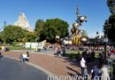Disneyland Tomorrowland entrance from the Ombibus