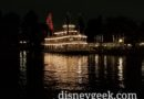 Mark Twain Riverboat at port in Frontierland