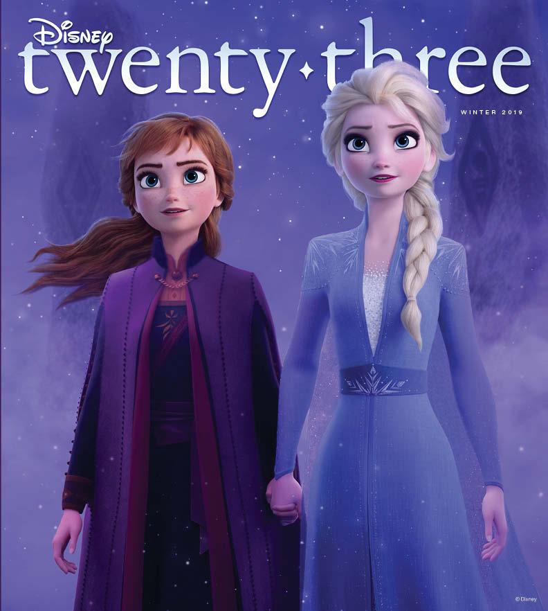 D23 Magazine Winter 2019 Cover