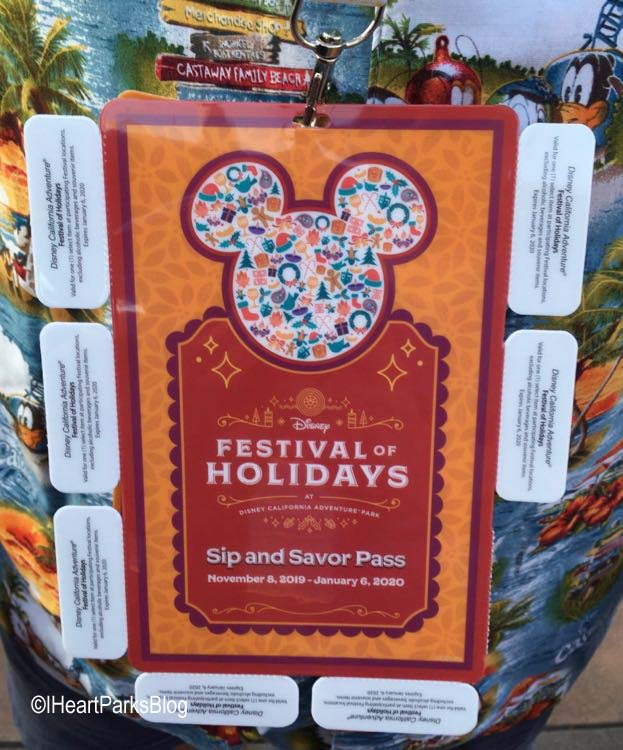 Festival of Holidays Lanyard