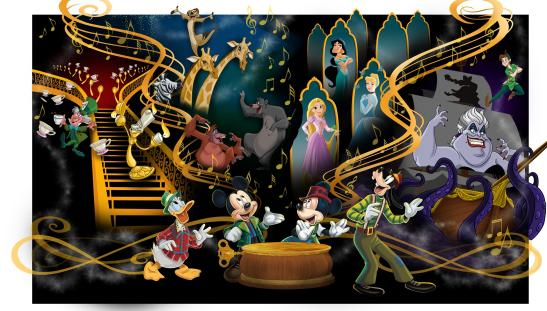 """Mickey's Magical Music World"" concept image"