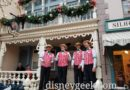 Video: Dapper Dans of Disneyland spreading some holiday cheer on Main Street USA