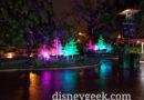 Downtown Disney Let It Glow Display