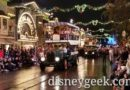 Pictures & Video: Mickey's Holiday Cavalcade (6:00pm)
