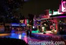 Disney Holiday Dance Party appears delayed due to the rain earlier