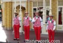 Picture & Video – Dapper Dans performing on Main Street USA
