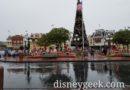 A rainy visit to Main Street USA