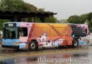 Spotted a Moana Wrapped Bus at Disney's Animal Kingdom