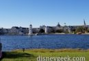 Disney's Yacht Club Resort Across Cresent Lake