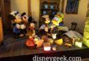 Mickey's Christmas Carol Window at the Emporium