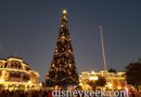 Magic Kingdom Town Square Christmas Tree