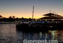Seven Seas Lagoon as the Sun Sets