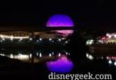 Finishing my day at Epcot
